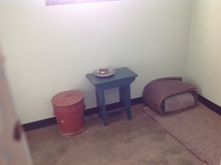 Mandela's cell on Robben Island