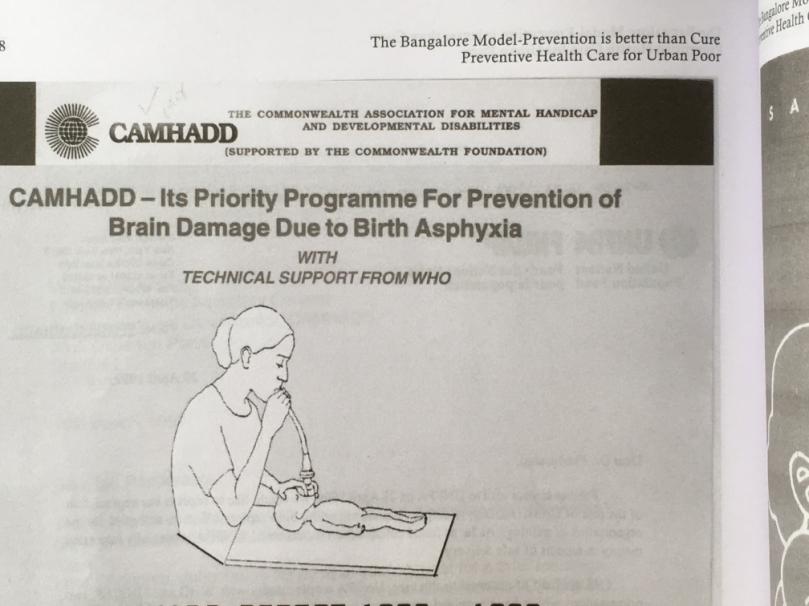 CAMHADD leaflet